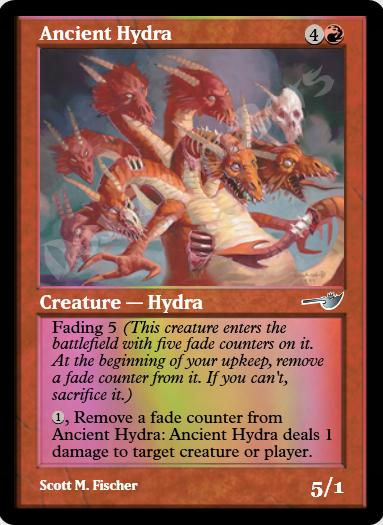 Ancient Hydra FOIL