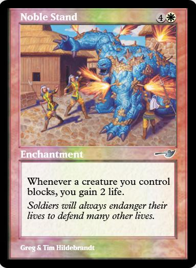 Noble Stand FOIL