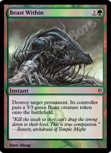 Beast Within FOIL