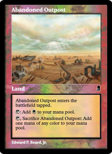 Abandoned Outpost FOIL