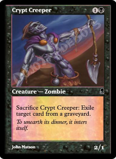Crypt Creeper FOIL