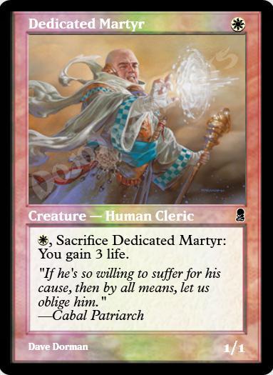 Dedicated Martyr FOIL