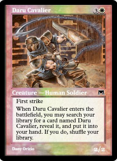 Daru Cavalier FOIL