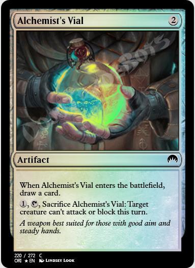 Alchemist's Vial FOIL