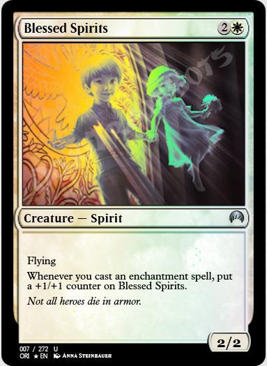 Blessed Spirits FOIL
