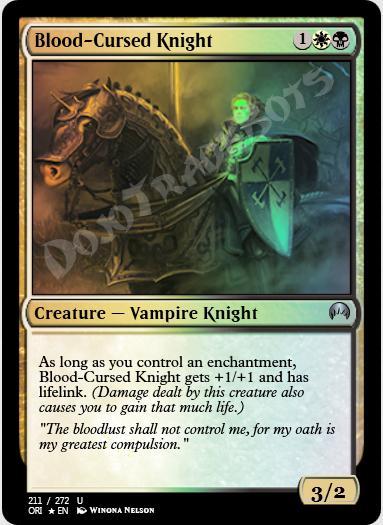 Blood-Cursed Knight FOIL