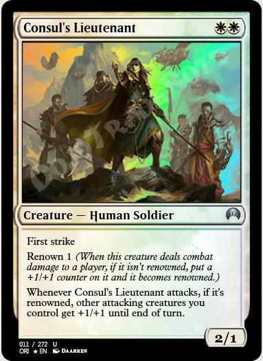 Consul's Lieutenant FOIL
