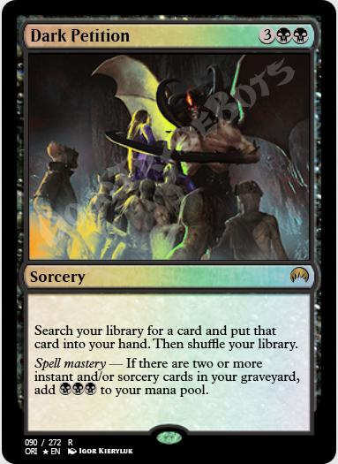Dark Petition FOIL