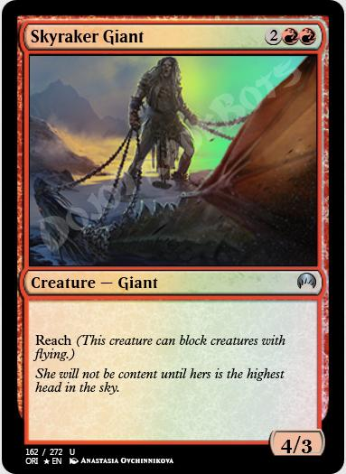 Skyraker Giant FOIL