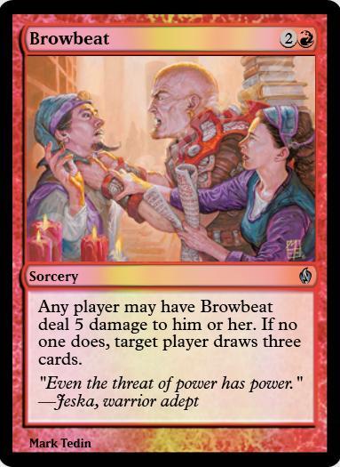Browbeat FOIL