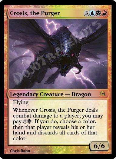Crosis, the Purger FOIL