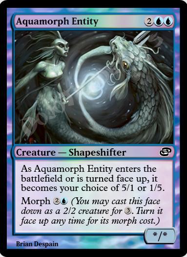 Aquamorph Entity FOIL