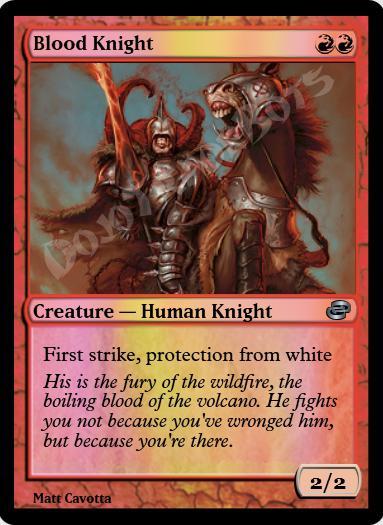 Blood Knight FOIL