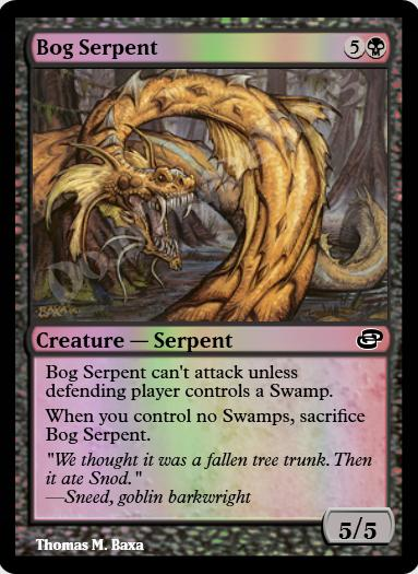 Bog Serpent FOIL