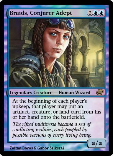 Braids, Conjurer Adept FOIL