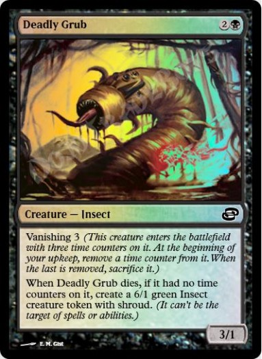Deadly Grub FOIL