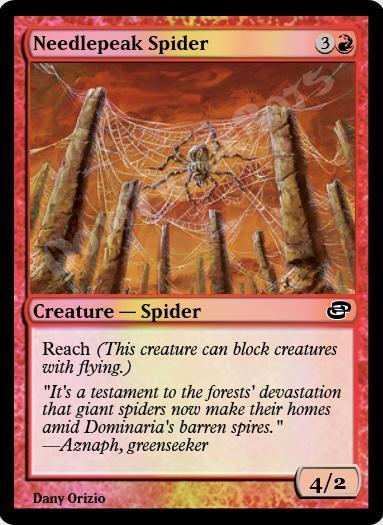 Needlepeak Spider FOIL