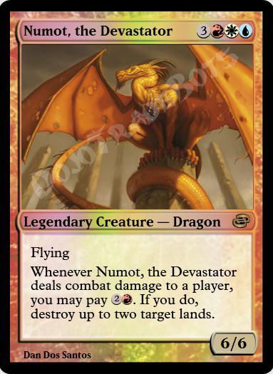 Numot, the Devastator FOIL