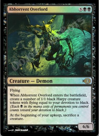 Abhorrent Overlord FOIL