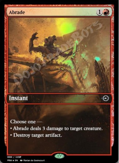 Abrade (Game Day) FOIL
