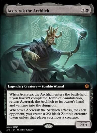 Acererak the Archlich