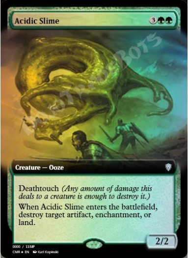 Acidic Slime (Extended Art) FOIL