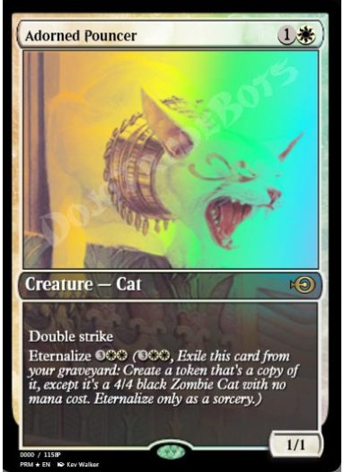 Adorned Pouncer FOIL