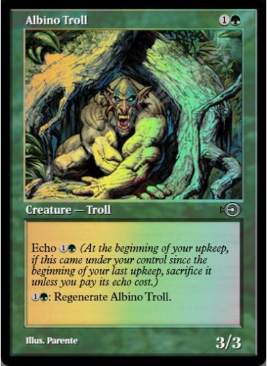 Albino Troll FOIL