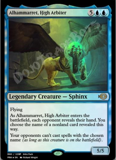 Alhammarret, High Arbiter FOIL