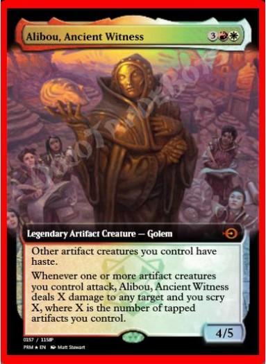 Alibou, Ancient Witness FOIL