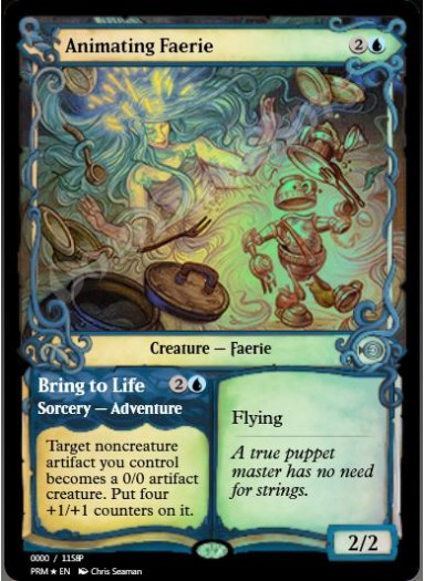 Animating Faerie FOIL