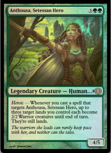Anthousa, Setessan Hero FOIL