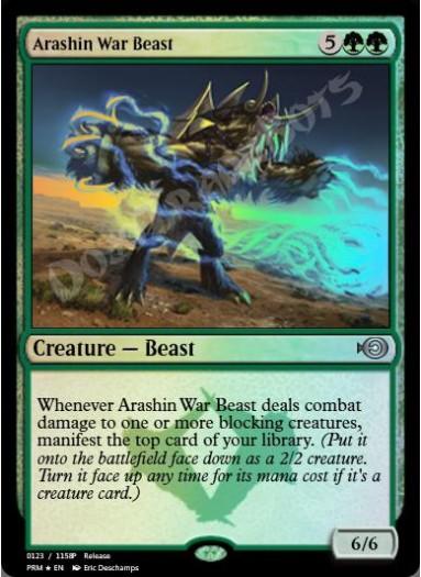 Arashin War Beast FOIL