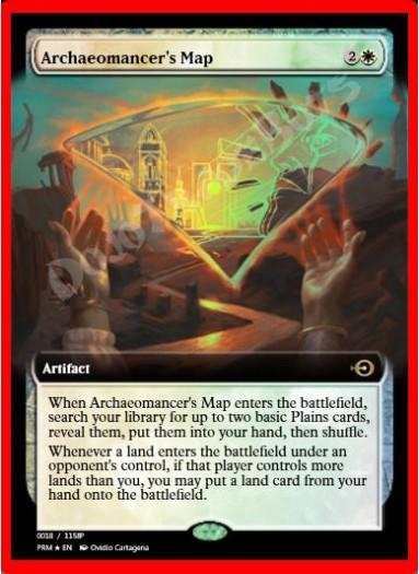 Archaeomancer's Map FOIL