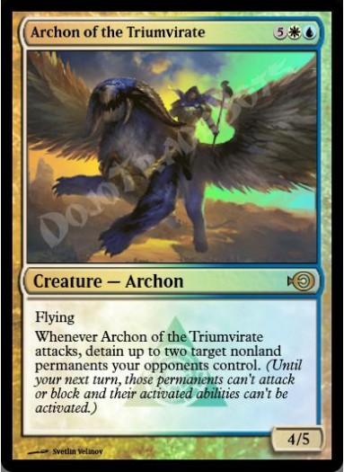 Archon of the Triumvirate FOIL