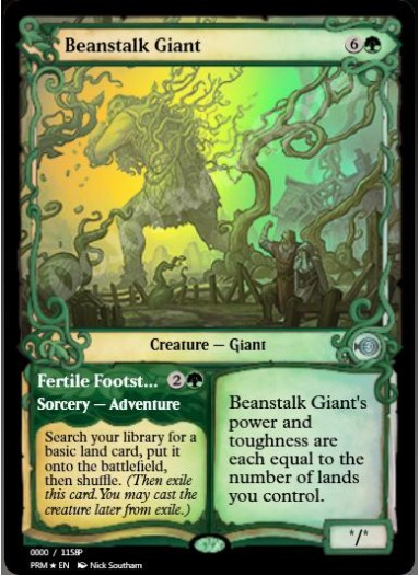 Beanstalk Giant FOIL