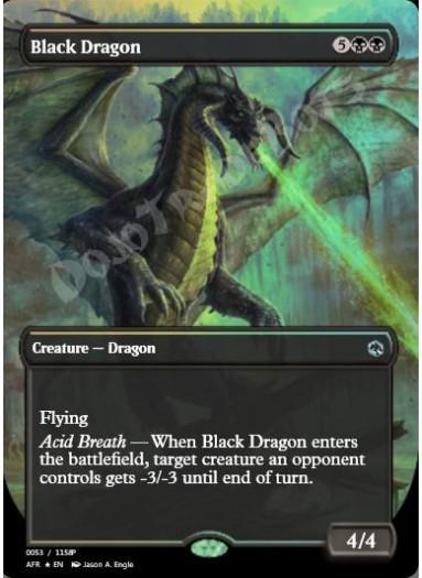 Black Dragon FOIL
