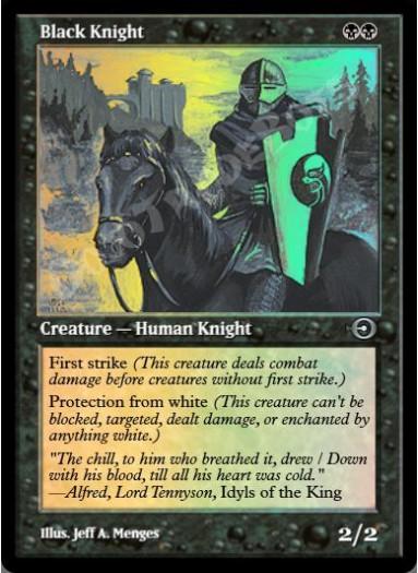 Black Knight FOIL