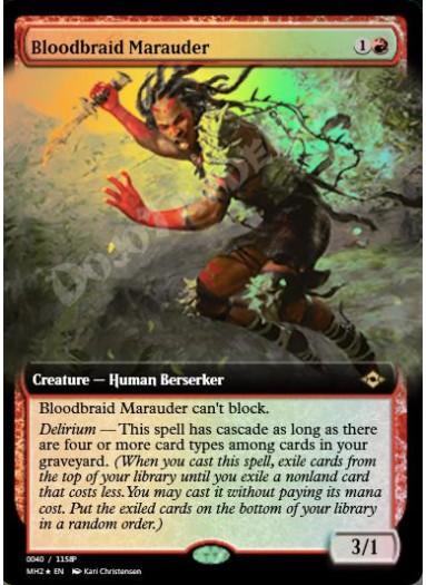 Bloodbraid Marauder FOIL