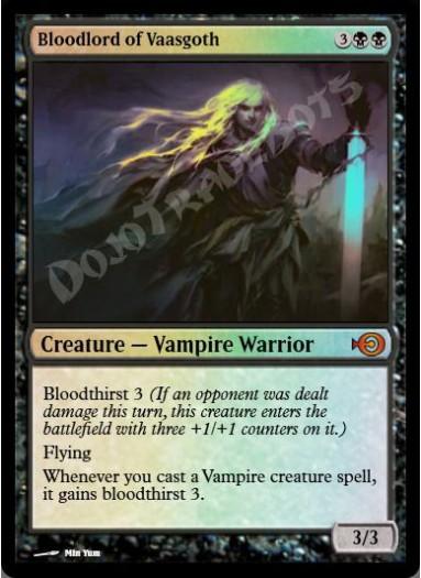 Bloodlord of Vaasgoth FOIL
