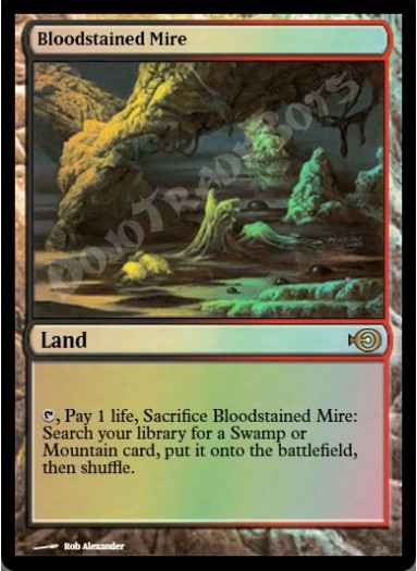 Bloodstained Mire FOIL