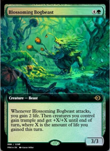Blossoming Bogbeast FOIL