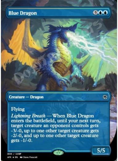 Blue Dragon FOIL