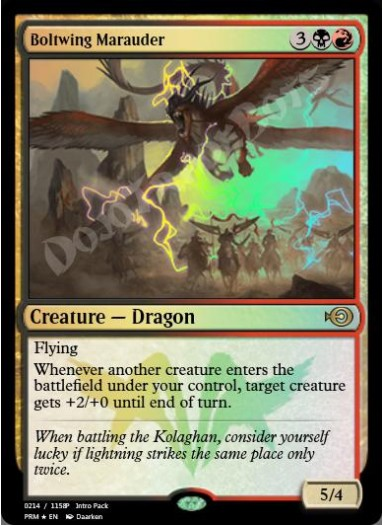 Boltwing Marauder FOIL