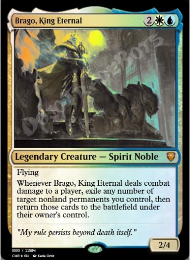 Brago, King Eternal FOIL