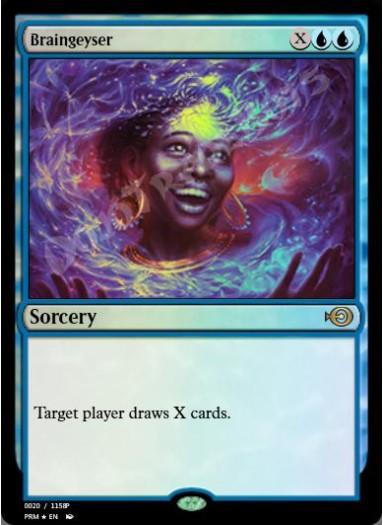 Braingeyser (#20) FOIL