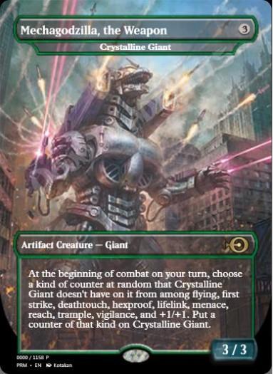 Crystalline Giant (Godzilla Series)