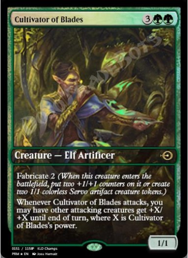 Cultivator of Blades FOIL