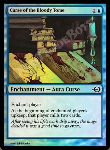 Curse of the Bloody Tome FOIL