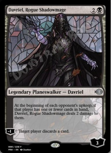 Davriel, Rogue Shadowmage (Japanese)